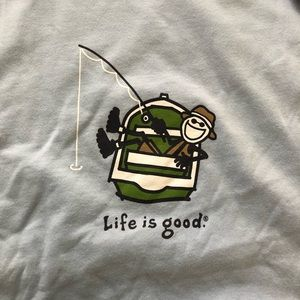Life is Good men's Boating Tee Shirt